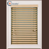 2013 elegant new style colorful wooded cafe style venetian blinds/make wood blinds