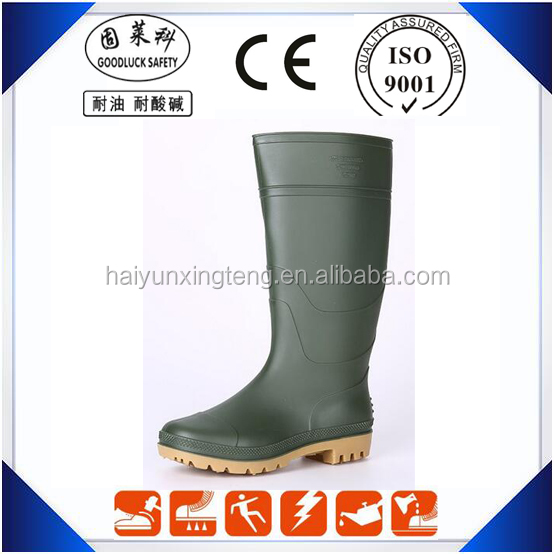 PVC Working Safety Rain Boots PVC Protective Boots