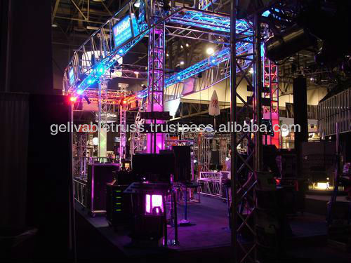Display truss booth