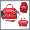 2015 red customed leather carry golf boston bag