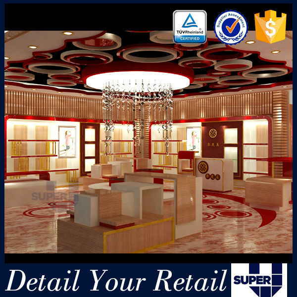 Guanghzou Factory Direct Luxury Display Shop Fitting Equipment