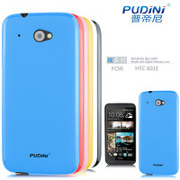 2014 PUDINI TPU jelly series mobile phone soft case for htc desire 601