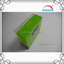 2015 resistant clear plastic packaging box for power supply