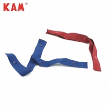 Customed eco-friendly clothing durable colorful garment snap fasteners plastic tape wholesale for baby sleepsuit kid clothes