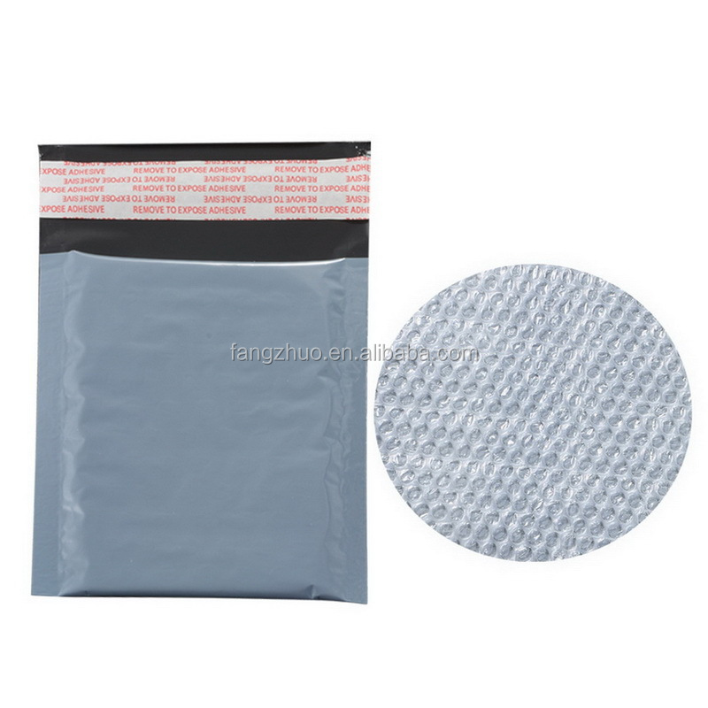 130*130+40mm OEM & ODM service self-adhesive <strong>PE</strong> bubble bag for courier bag free shipping