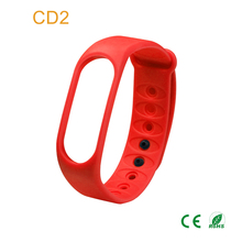 Touch screen smart bracelet 3d pedometer timer led kids watch with light