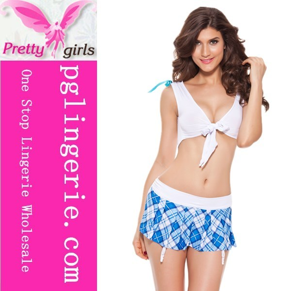Cheap Sex Blue School Girl Uniform Sexy Cosplay Costume For Japan Hot School Girl