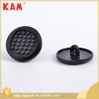 KAM balck clothing and accessorie metal round shape snap button jewelry