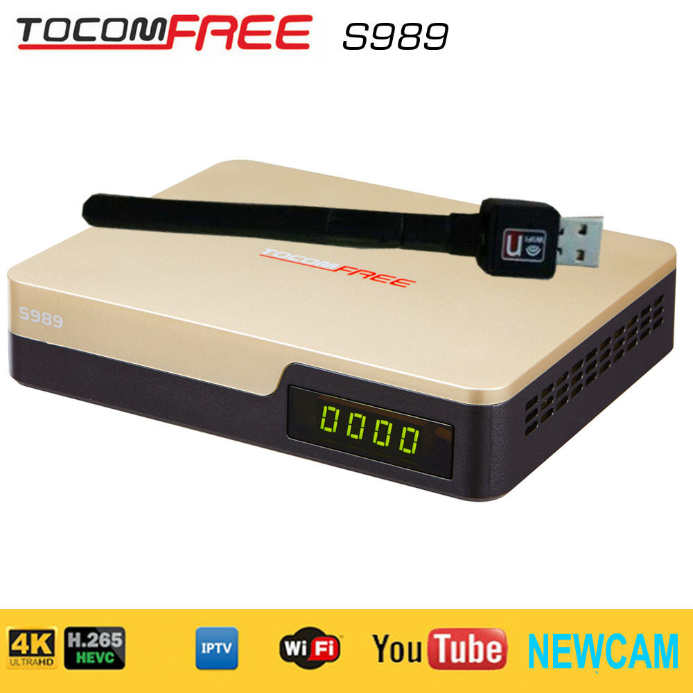 Newcamd suppot TV satellite receiver Tocomfree S989 with IKS SKS free for south America