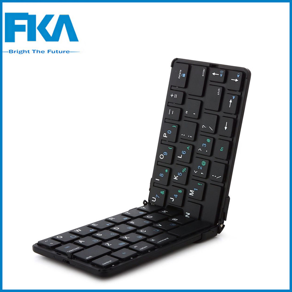 Mini Ultra Slim iLepo360 Foldable Wireless Bluetooth Keyboard for Phone/Pad/PSP