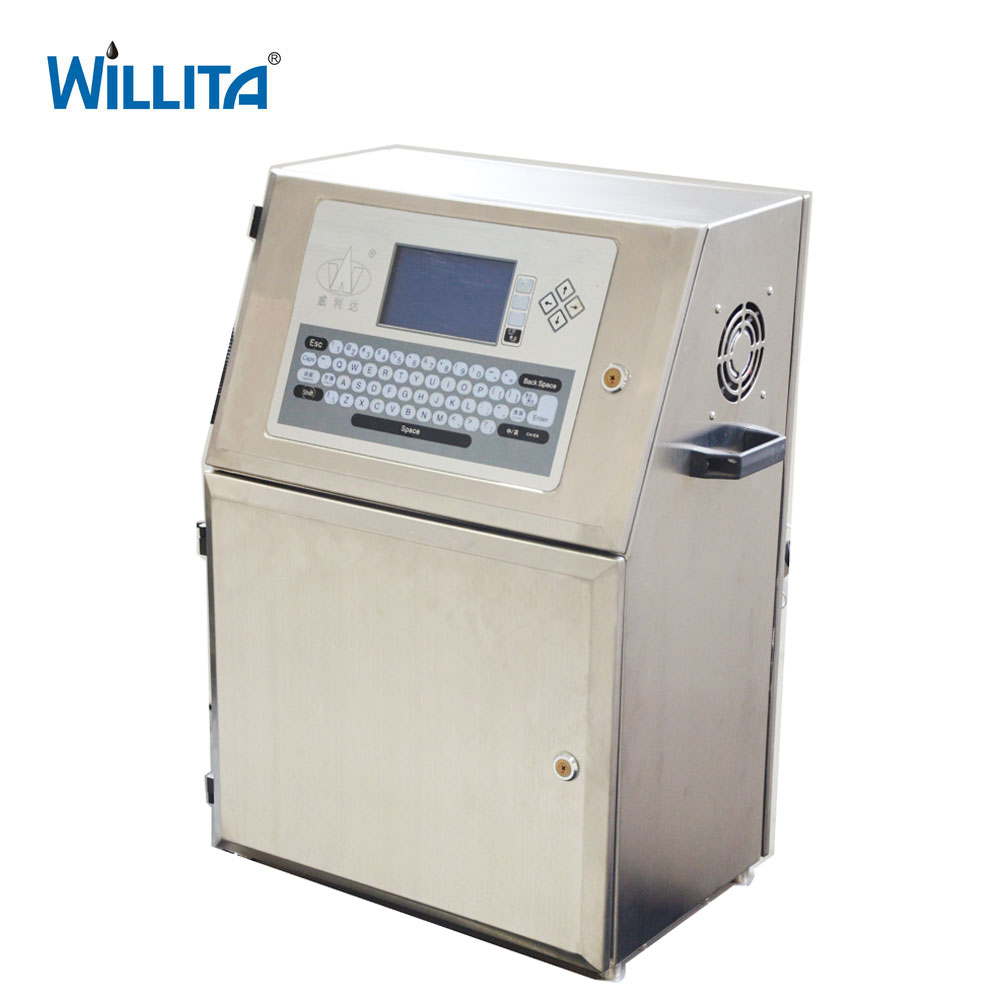 Batch expiry coding date printing machine for glass