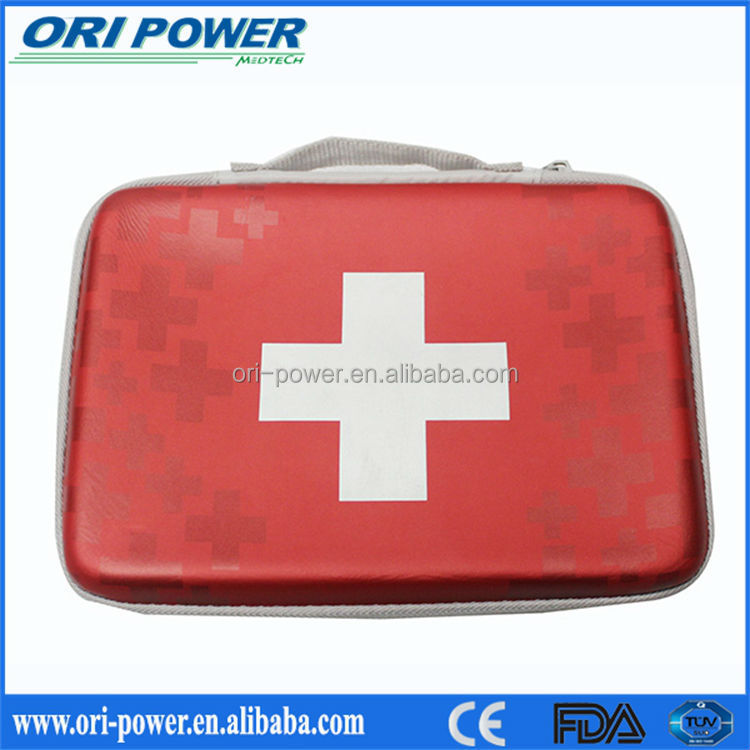 New CE ISO FDA approved promotional oem wholesale handy nurse medical first aid kit box
