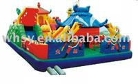 Playground euqipment sports game giant inflatable castle Making Havoc in Heaven