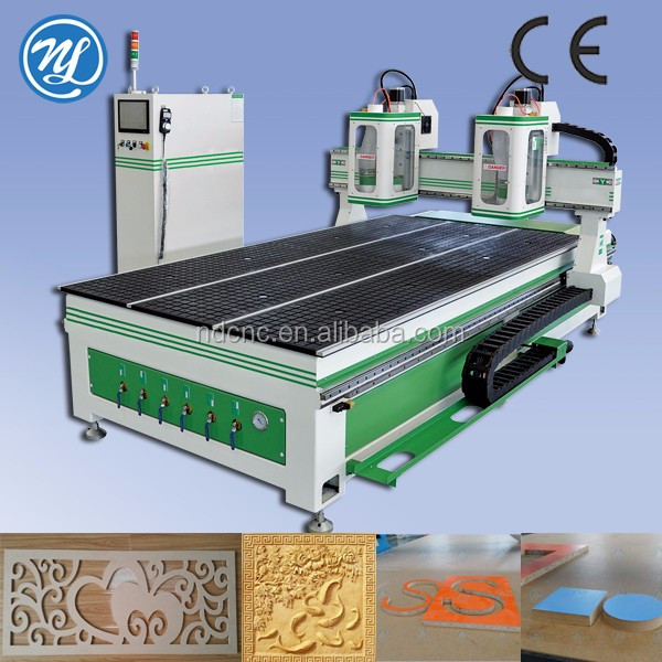used cnc router uk/double processing wood working machine/cnc wood carving machine