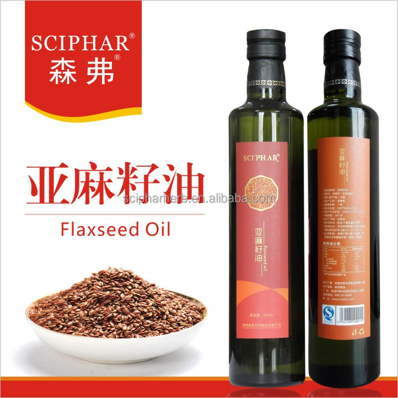 Factory Supplement of 100% Natural Flaxseed Oil;Edible linseed oil;Linseed oil