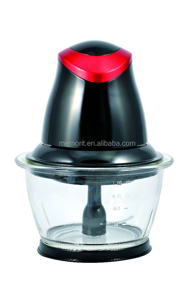 1.0L capacity electric mini food chopper for sale