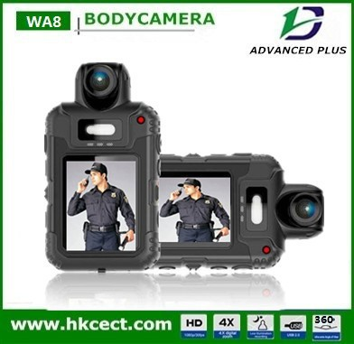 Better than reveal media 360degree Rotatable lens A7 IP66 64GB WA8 body camera police video body worn camera police camera
