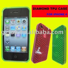 DIAMOND TPU CASE FOR IPHONE 4G