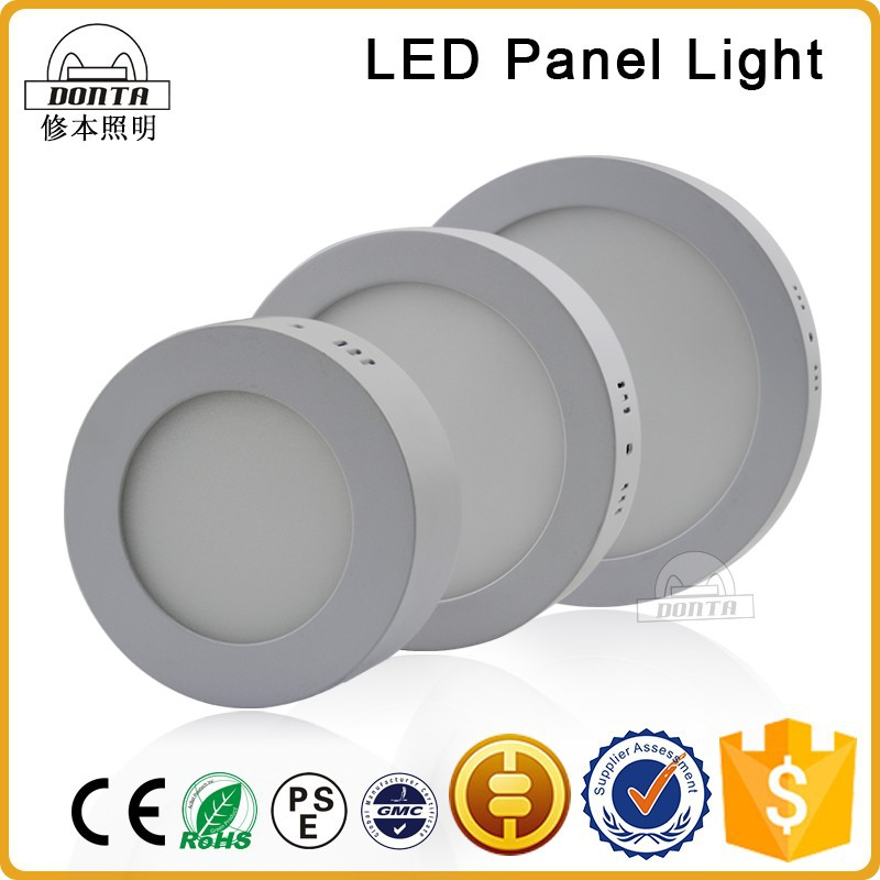 18 watt outdoor ip65 ultra slim round solar led panel light price