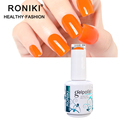 RONIKI Environmental Friendly Strong Adhesion Easy Soak Off Uv Led Gel Nail Polish
