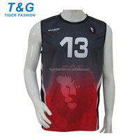 Design your own sublimation custom man volleyball uniform