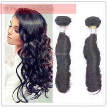 Alibaba best selling natural spring curl no chemical unprocedded human hair type salon products virgin indian remy hair