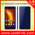 5.5 Inch Glass Back Cover Quad Core HONOR R8 8.0MP Back Camera smartphone android
