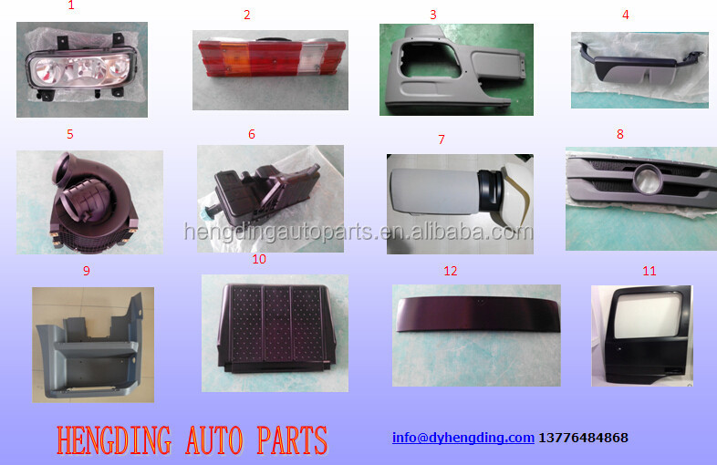 for heay duty truck mercedes benz body parts truck spare parts