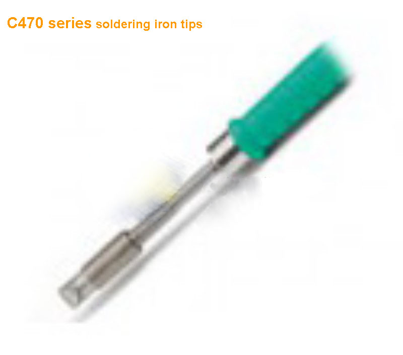 Lead free soldering iron tips C470 soldering tip iron cartridge for Heavy Duty HD 2B system T470A handpiece only