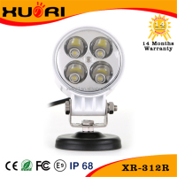 Manufacture 12w 3inch Led Work Light white 12w mini Round Led Driving Light 900lm Off Road 3'' 12watt led worklights