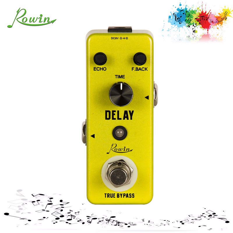 DELAY guitar effect pedal LEF-314 guitar pedal