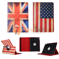 US UK flag pattern smart cover case for Apple iPad Pro air/mini/2/3/4