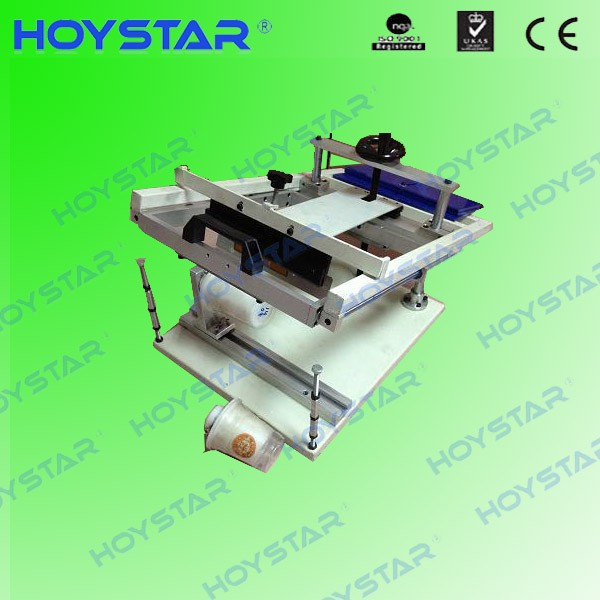manual cylindrical portable screen printing machine