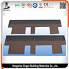 Fiberglass Asphalt Roofing Shingles Colored Glaze Red Asphalt Roof Shingles by Chinese Supplier