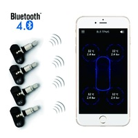 DIY car wireless Smartphone APP tpms, with Bluetooth, for iOS & Android mobile