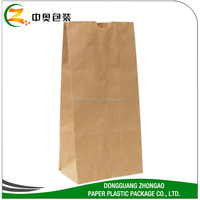 CUSTOM KRAFT BROWN PAPER BAG FOR CLOTHES PACKAGING WITH LOGO