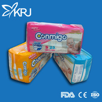 OEM Disposable 2017 hot sell cheap disposable baby diaper