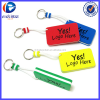 2016 New Product Rectangular EVA Floating Keychain