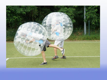 2016 Newest bubble soccer suits,bump ball game,human inflatable bumper bubble ball
