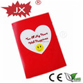 China wholesale voice recordable greeting card with full love