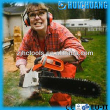 Petrol garden machine german chainsaw for chopping down trees