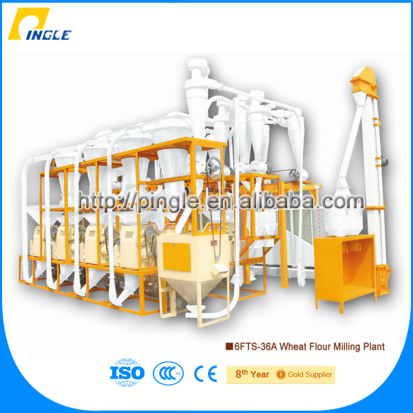Hot Sale flour mill plant 26t/24H-36t/24H industrial corn grinder wheat flour milling machine