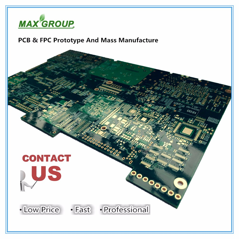 1 layer pcb automatic pcb soldering machine dvd player circuit board pcb bord