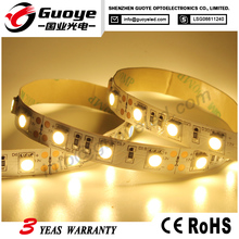 Super bright led strip pure warm cool white color with 5050 SMD 12v 24v 60leds/m