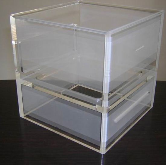Custom made clear acrylic product acrylic shoe display case