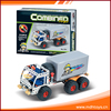 Promotional 4 wheel metal engineering vehicle concrete mixer truck toy