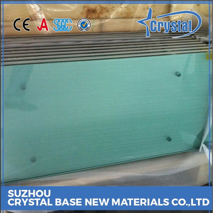 World Class Factory Toughened Blue Color Laminated Tempered Glass