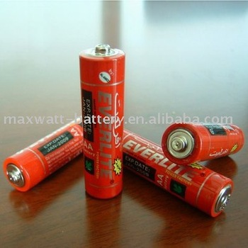 R6 SIZE AA UM-3 DRY BATTERY