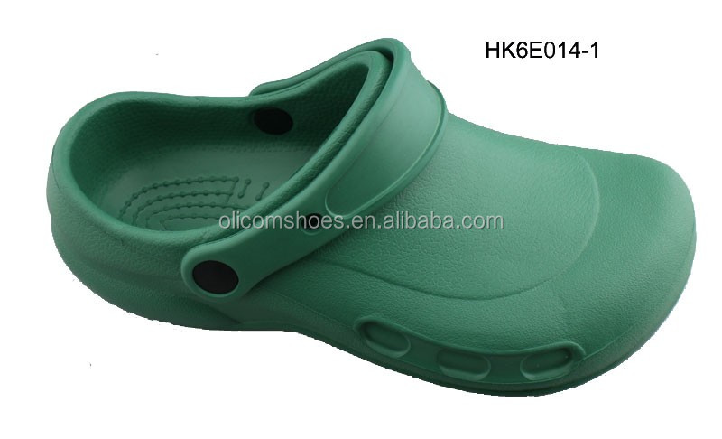 2016 Newest Men Clogs, Kitchen Chef Clogs Shoes, Hospital Safety Clogs without Holes