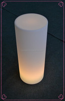 china top ten selling products cylindrical colorful LED decoration light